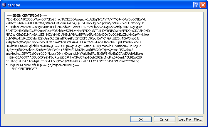 Creating a Binary Message from PEM/Base64 Data